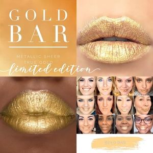 Gold bar Lipsense Ltd Edition by SeneGence rrp$34